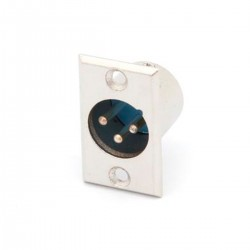 Chasis XLR Macho 3 Pins