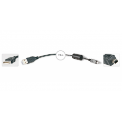 Cable USB A a mini USB B 4 pines