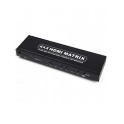 Matriz HDMI de 4 entradas y 4 salidas