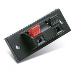 Conector altavoz con 2 terminales a presión