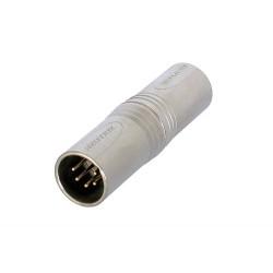 Adaptador XLR Neutrik NA5MM