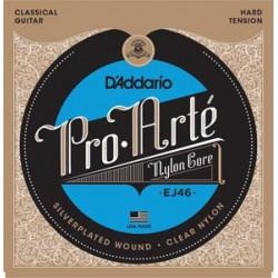 Cuerdas Guitarra clasica D'Addario EJ46 HARD
