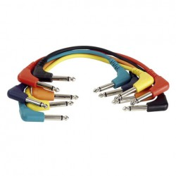 Cable Patch mono 6 colores 90 cm