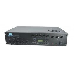 Amplificador AC 120W RMS con MP3 y radio AM/FM