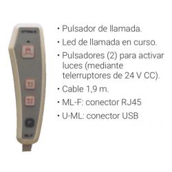 Optimus U-ML mando de paciente