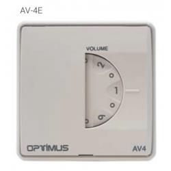 Optimus AV-4E atenuadora 4W