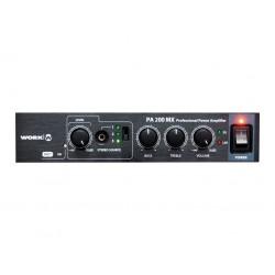 Work PA 200 MX Amplificador/mezclador 2x100W