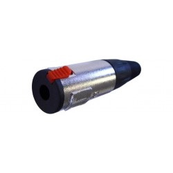 Conector Jack 6,3 Hembra Estéreo Aéreo