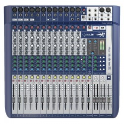 Mesa de mezclas SOUNDCRAFT Signature 16