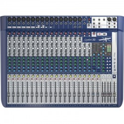 Mesa de mezclas SOUNDCRAFT Signature 22