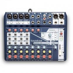 SOUNDCRAFT NOTEPAD-12FX Mezclador compacto