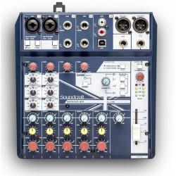SOUNDCRAFT NOTEPAD- 8FX Mezclador compacto