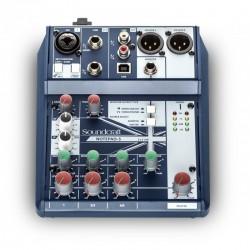 SOUNDCRAFT NOTEPAD-5 Mezclador compacto