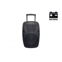 AMS A 102T B Altavoz portátil con batería 100W