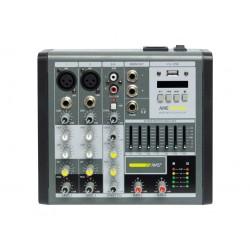 AMS AME 152 USB Mezclador 2 canales mono + 1 estéreo. USB.