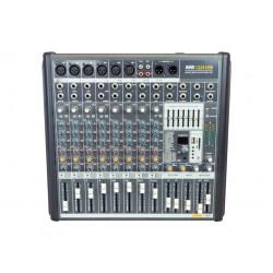 AMS AMX 1224 USB Mezclador de 4/6 canales mono + 4/2 estéreo. USB/BT.