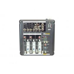 AMS AME 202 USB Mezclador de 2 canales mono + 1 estéreo. USB/BT.