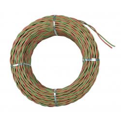 EGI CML100V Cable bipolar verde/naranja