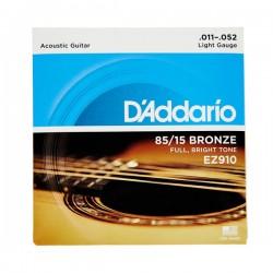 D'ADDARIO EZ910 SET CUERDAS G.ACÚSTICA 011-052
