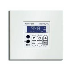 Improve K801RLD Mando de 1 canal estéreo, 2 x 1,5 W