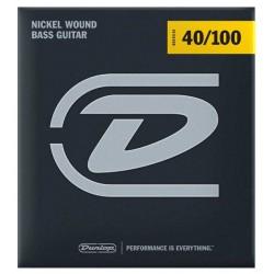 Dunlop Bass Nickel Wound DBN40100