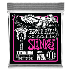 ERNIEBALL SET CUERDAS ELECT. SLINKY COATED 3123