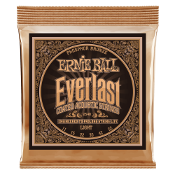 ERNIEBALL EVERLAST G.ACÚSTICA LIGHT 11/52