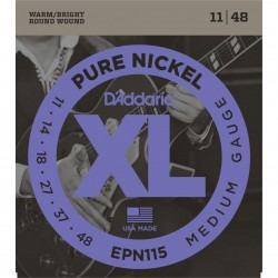 D'ADDARIO EXP115 GUIT ELÉC COATED NICKEL
