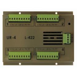 OPTIMUS UR-4 Unidad control 4 zonas