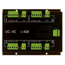 OPTIMUS UC-4S Unidad control remoto 4 zonas
