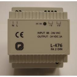 OPTIMUS FA-2DIN Fuente alimentación 24V CC