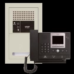 AIPHONE GT-05ZRK Kit intercom refugios control (5)+placa