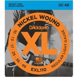 Daddario EXL110 Set guitarra eléctrica
