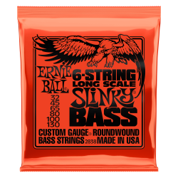 ERNIE BALL SET CUERDAS BAJO 6-STRING