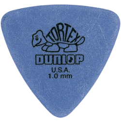 DUNLOP PÚA TORTEX / TRIANGLE - 1,00MM