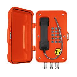 J&R JREX101-SIP Teléfono industrial prueba de explosión