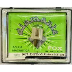 Aguja giradiscos FOX 967 DST W