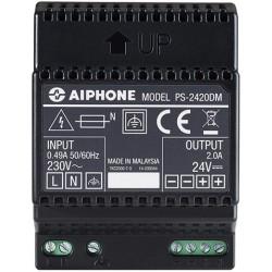AIPHONE PS-2420DM  Fuente de alimentación 24V 2.0 Amp carril DIN