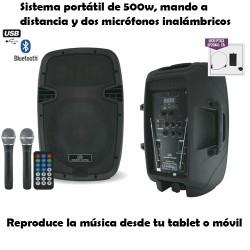 "Altavoz portátil Acustic Control Combo 12""(500W)"