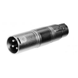 Adaptador XLR Hembra 5 Pins a XLR Macho 3 Pins