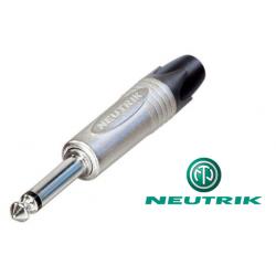 Conector Jack 6,3 Macho Mono Neutrik
