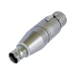 Adaptador XLR Neutrik NA2FBNC