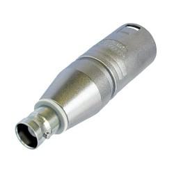 Adaptador XLR Neutrik NA2MBNC