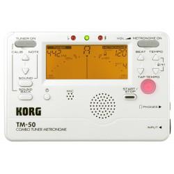 Afinador y metrónomo Korg TM-50
