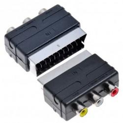 Adaptador euroconector Monacor VAL-3