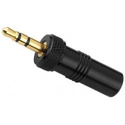 Conector jack 3,5 cierre para enroscar Monacor PG-323PG