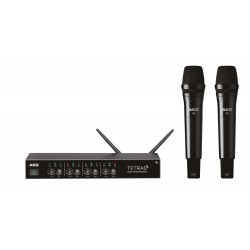 Sistema inalámbrico AKG DMS TETRAD VOCAL SET P5