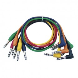 Cable Patch 6 colores 30 cm